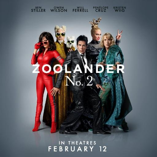 Zoolander No. 2 (2016) [DVDRip] [Latino] [1 Link] [MEGA]