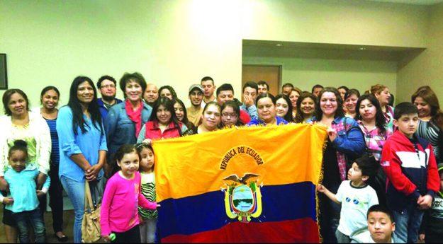 ➥➥ Ecuatorianos unidos por su país.