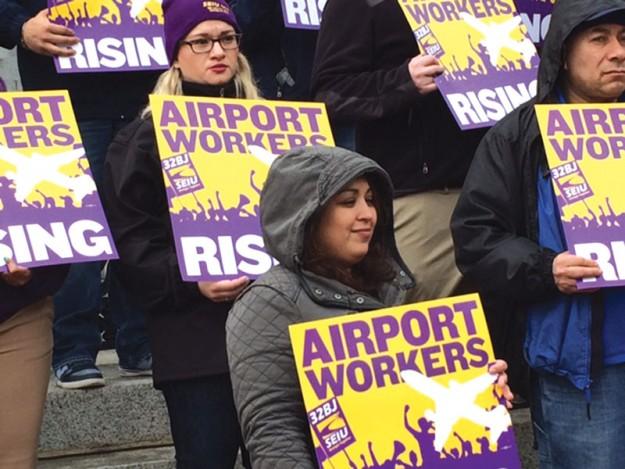 ➥➥ Trabajadores de Logan demandan aumento de salario.