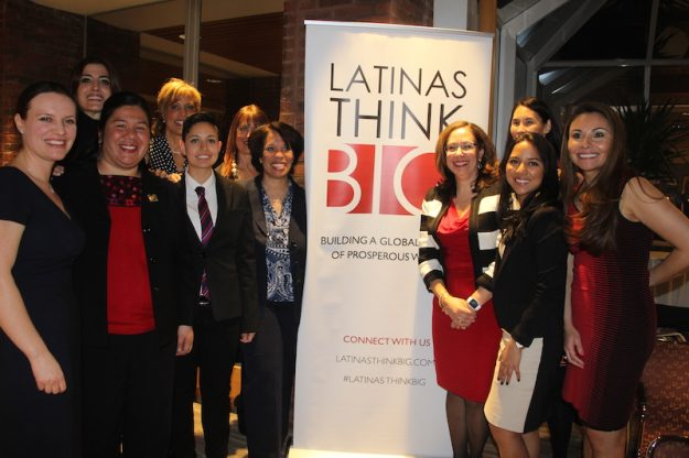 Participants of the Latina Think Big forum at the John F. Kennedy School of Government at Harvard University.