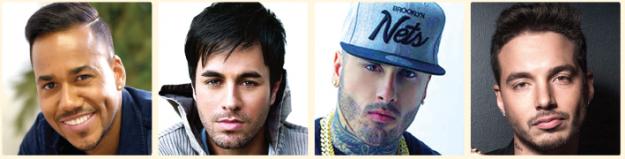Nominados a Premios Billboards.