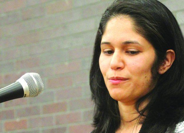 Alysha Carrasquillo decidió regresar a Lawrence después de graduarse de la prestigiosa Universidad Brown en Providence, R.I. y Middlebury Institute of International Studies en California.