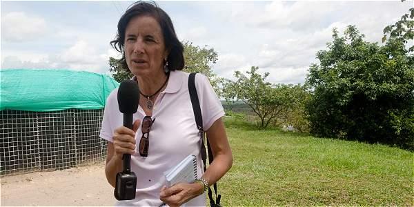 Foto: AFP Salud Hernández-Mora fue vista por última vez el sábado al mediodía en un corregimiento de El Tarra.