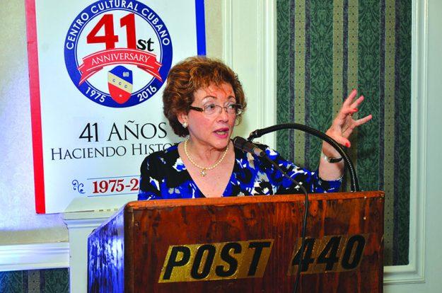 ➥➥ Miriam Gorriaran, actual secretaria del CCC y del Grupo Benéfico recién formado.