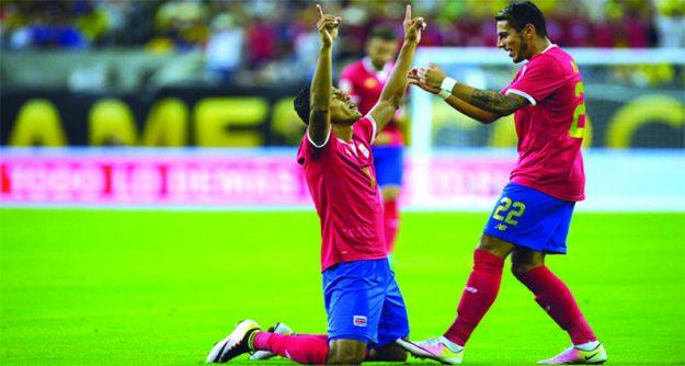 ➥➥ El conjunto Tico venció a Colombia 3 a 2.