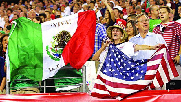 ➥➥ Según los pronósticos México, al igual que Estados Unidos, se siente jugando en casa ya que los mexicanos tienen una gran hinchada en EEUU. E tricolor buscaría ganar su primera Copa América.