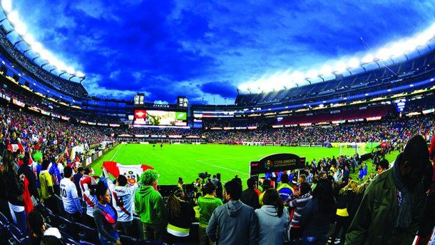 El domingo 12 de junio Brasil y Perú se midieron en el Gillette Stadium, encuentro en el que la selección peruana se llevó la victoria. Foto: Javier Rojo.