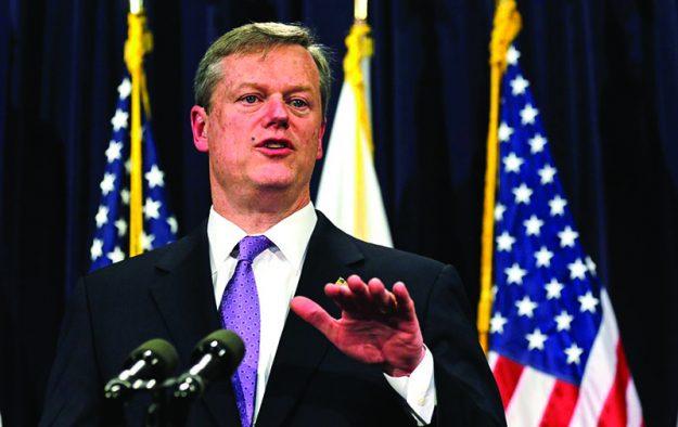 Charlie Baker, gobernador de Massachusetts.