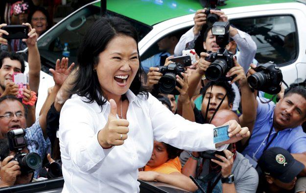 Keiko Fujimori obtuvo el 49.48% en votos
