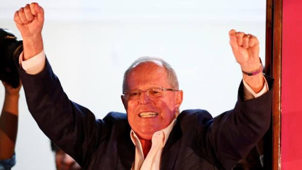 Pedro Pablo Kuczynsky obtuvo el 50.52% en votos.