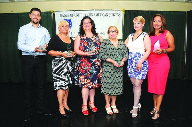 ➥➥ Por su liderazgo y buen ejemplo fueron reconocidas Vilma Galvez, Ana Liz Chavez, Awilda Enid Galarza, Zoraida de la Rosa, Patricia Montes y Verónica Robles.