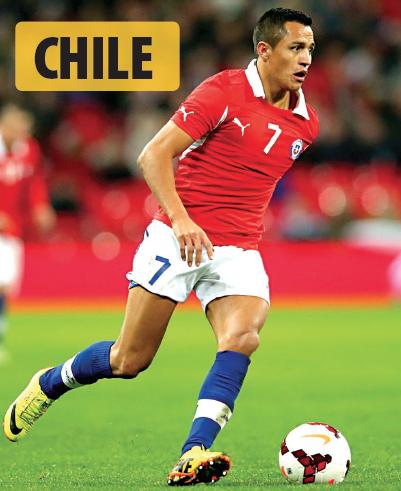 El chileno Alexis Sánchez se prepara para llevarse por segundo año consecutivo la Copa América. La Roja se enfrentará en su primer partido al conjunto albiceleste el martes 6 de junio.