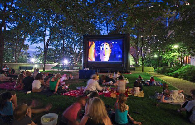 Movie NightGateway Plaza