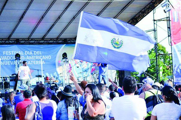➥➥Festival Día del Salvadoreño Americano.