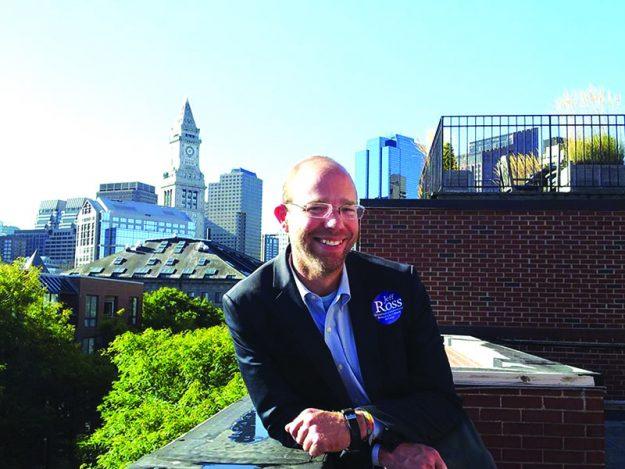 ➥➥ Mirando su futuro: Jeff Ross, conocido abogado de inmigración.