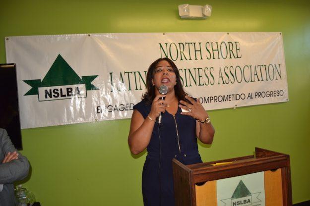 Frances Martinez, directora ejecutiva del NSLBA.