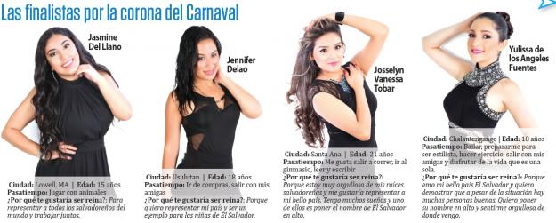 Carnaval Salvadoreno