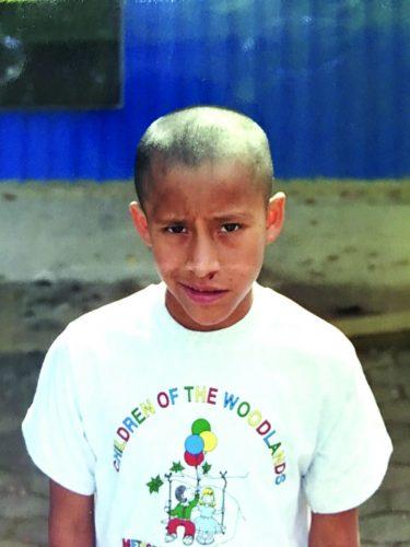 ➥➥ Moreno, como lo solían identificar cuando vivía en las calles de Guatemala.