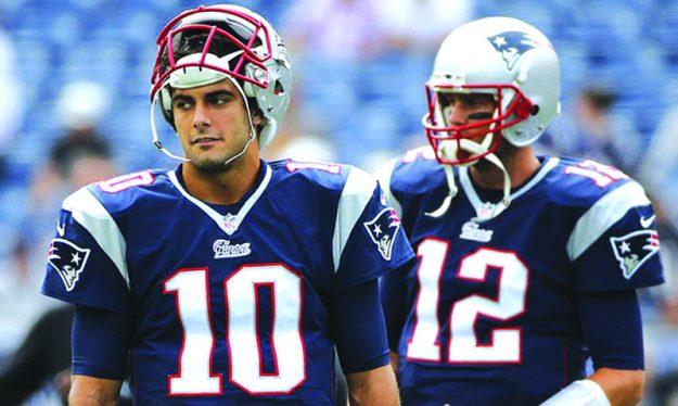 31-pats_Garoppolo y Brady pic