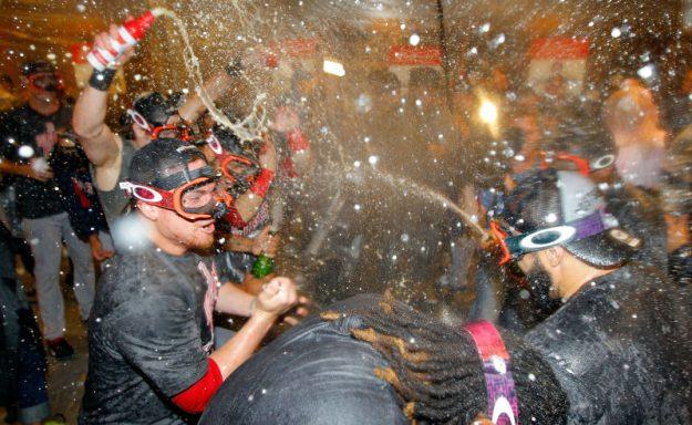 Los Red Sox ganaron la división Este de la Liga Americana.
