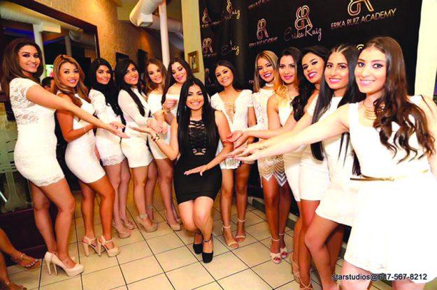 ➥➥ La modelo, presentadora de televisión, empresaria y ex reina de belleza Erika Ruiz presenta las integrantes de la primera clase de su nuevo proyecto Erika Ruiz Academy.