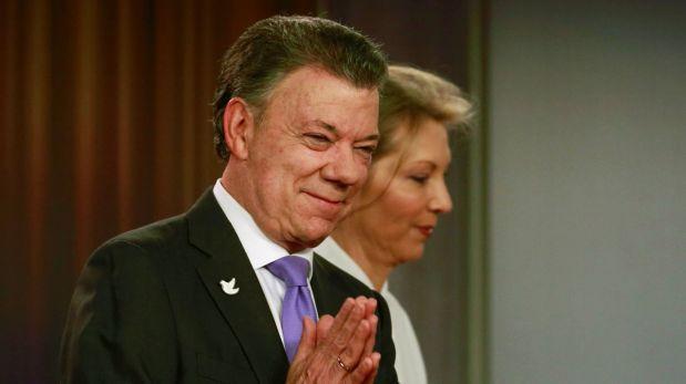 Juan Manuel Santos, presidente de Colombia galardonado con el Premio Nobel de la Paz (Foto: Reuters).