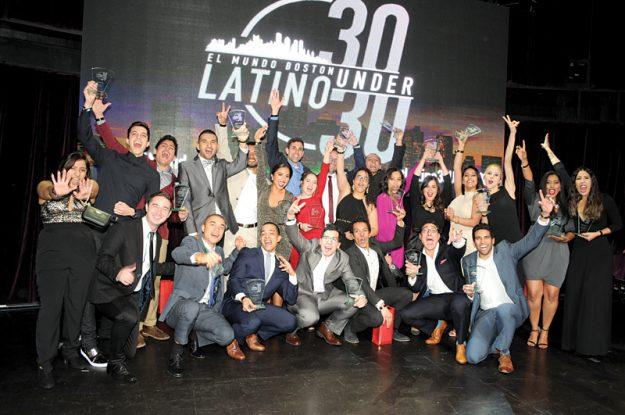 """Los """"30 under 30"""" celebraron sus reconocimientos."""