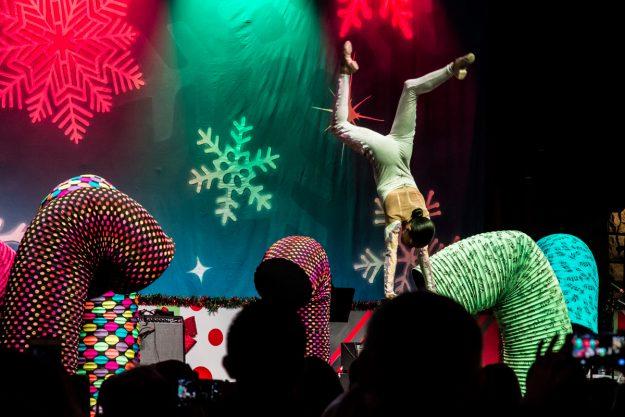 Artistas del Cirque Dream Holidaze. Foto: Ciro Valiente