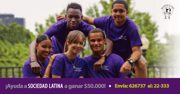 Ayuda a Sociedad Latina a incrementar el apoyo a la juventud.