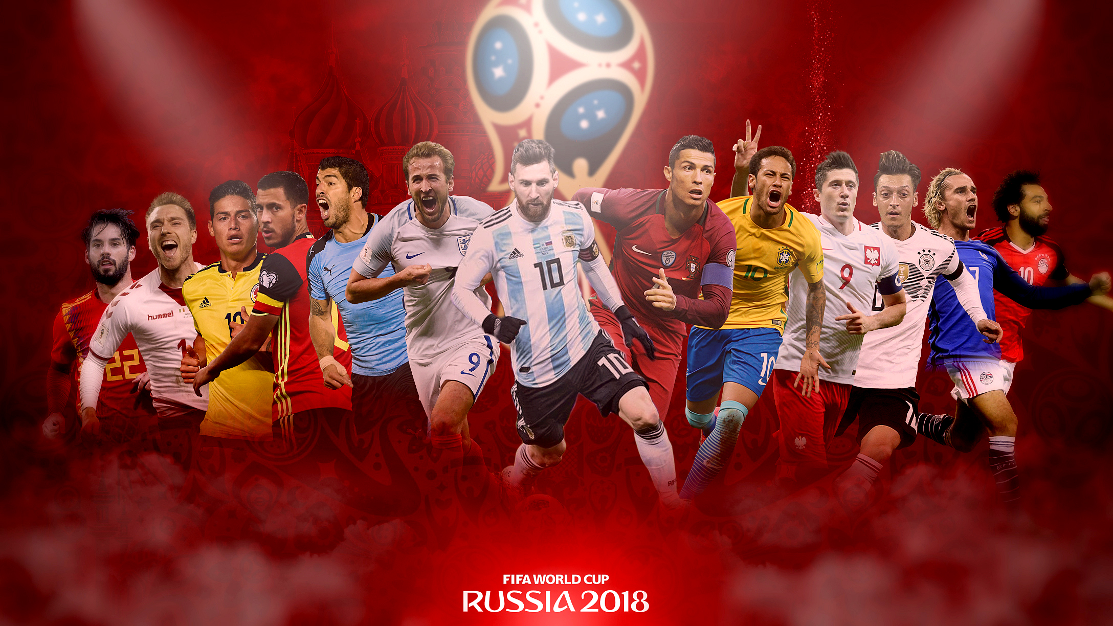 Fifa World Cup 2018 Players Wallpaper El Mundo Boston